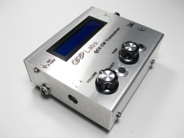 Housing kit for the QCX QRP TRX